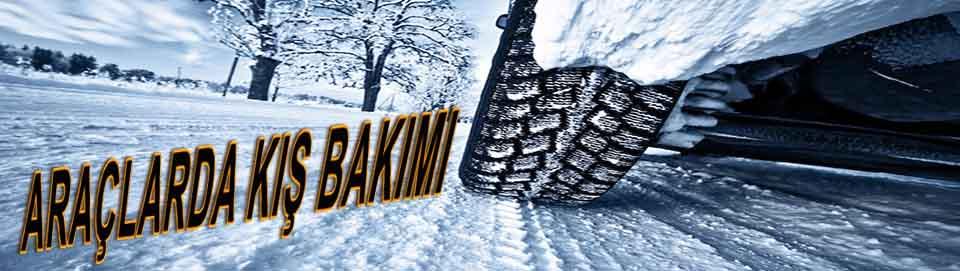 araçlarda kış bakımı