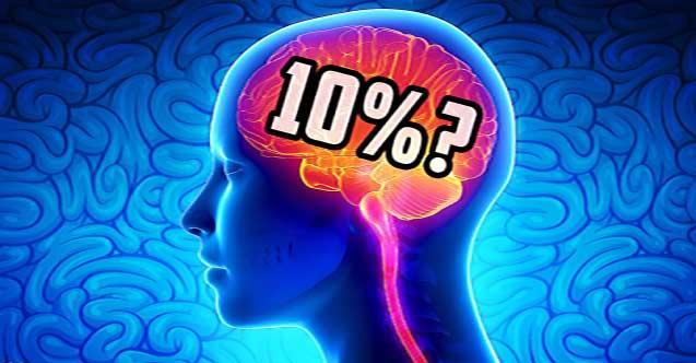 Beynimizin Ne kadarını Kullanabiliyoruz?