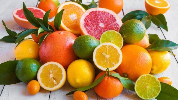 Narenciyelerin C Vitamini içeriği Önemli