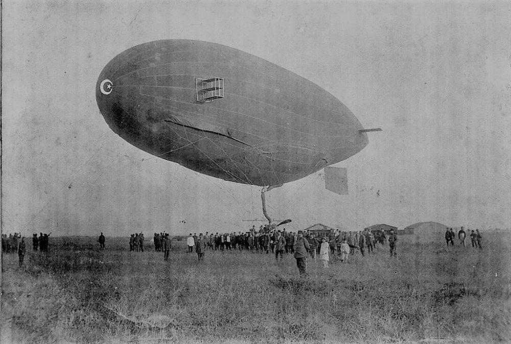 Osmanlı'da Uçak ve balon
