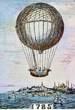 1785 OsmanlıdaUçma Teşebbüsleri